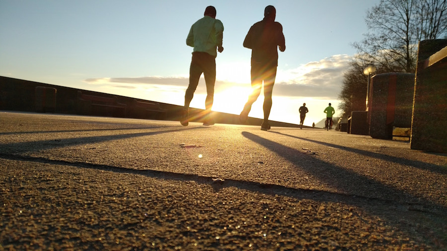 Running at one of the best gold coast fall events