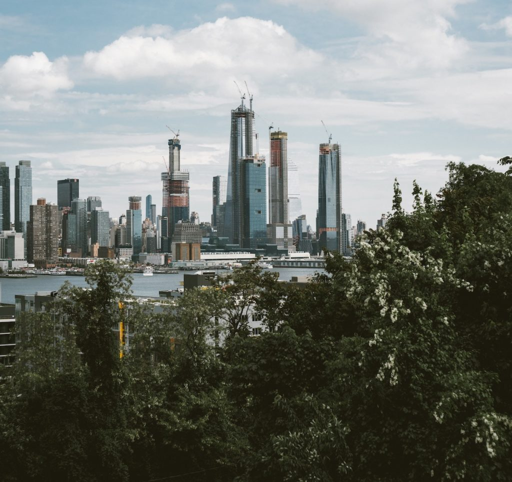 View of Manhattan from Downtown Weehawken